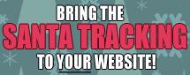 Santa Tracker Banners